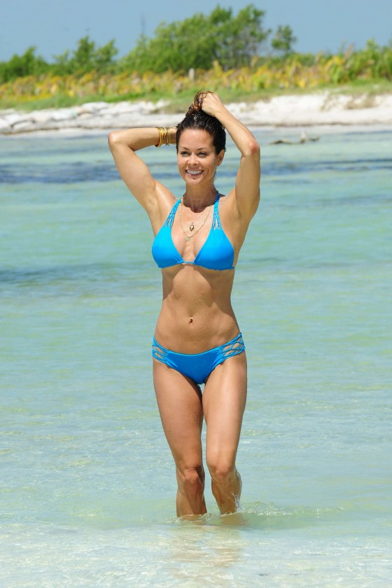 Brooke Burke in Bikini in Mexico (May 2013) - caring for themselves, to her own stories about the missteps she's made as a mother, to advice on how to handle the tough emotional challenges moms face.<br>Posted on 19 June 2013.