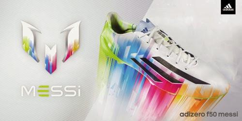 nuevas botas de Messi adidas adizero TM f50 colores comprar