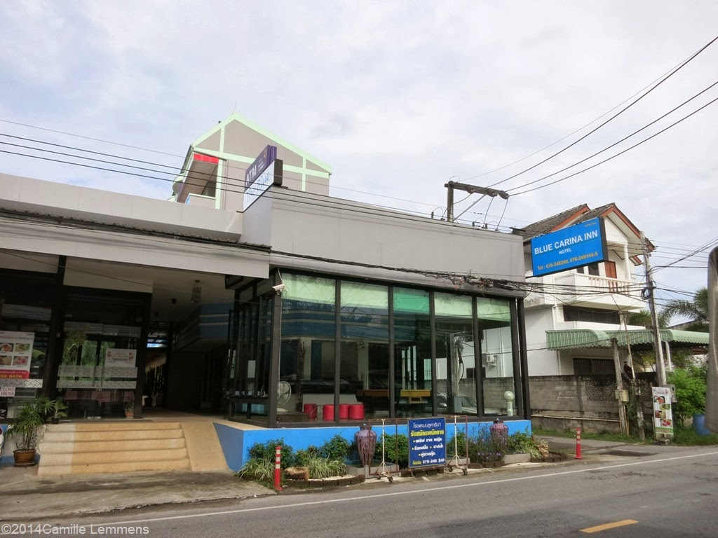 Blue Carina Inn, front