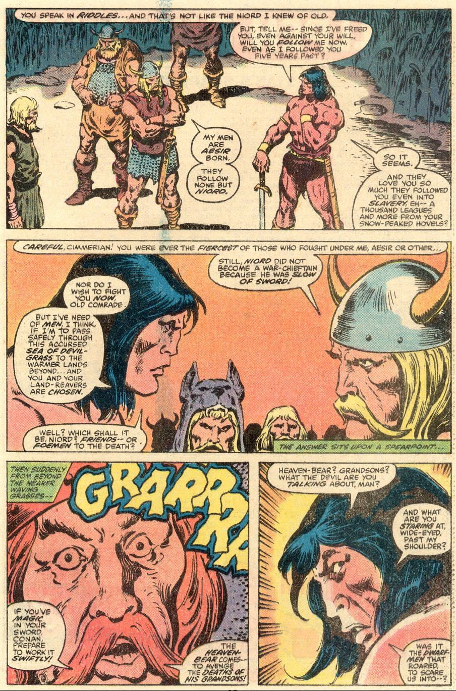 Conan the Barbarian (1970) Issue #109 #121 - English 17