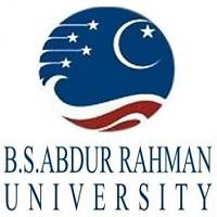 BS Abdur Rahman University Logo