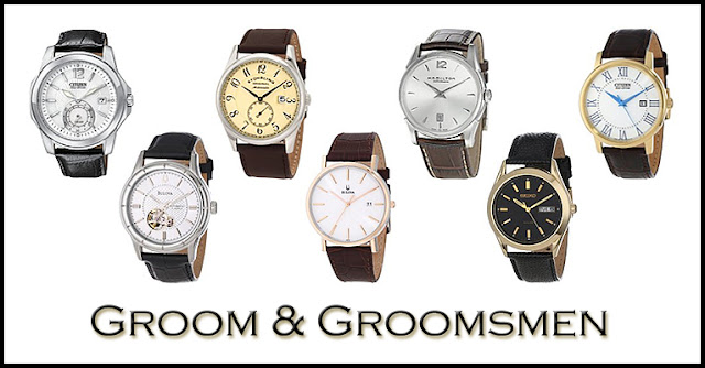 Groom & Groomsmen Watches