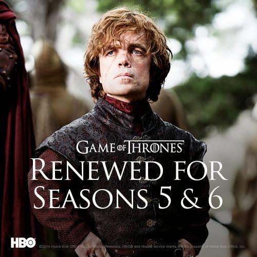 Juego de Tronos renovada para las temporadas 5 y 6 - Juego de Tronos en los siete reinos
