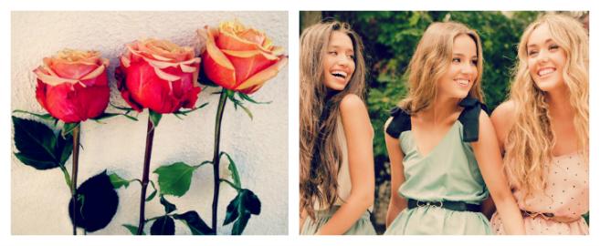Las tres rosas mini cuento