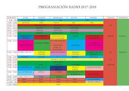 Programación 2017-2018