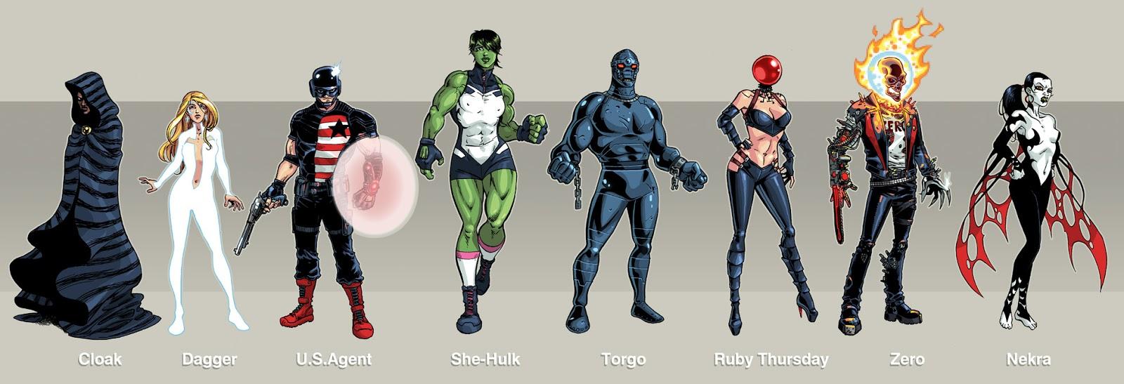 how to make a superhero team
