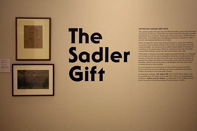 the Sadler Gift Leeds