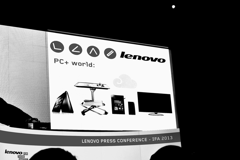 lenovo press conference at ifa 12013