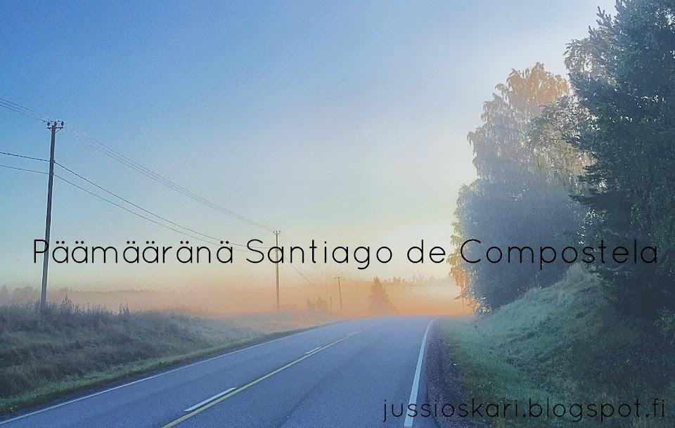 Päämääränä Santiago de Compostela
