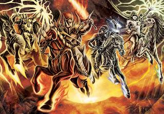 (L to R) Deimos, Phobos, Athos, and Shemp