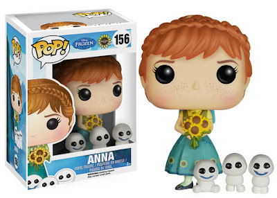 Frozen Fever Pop! Disney Vinyl Figure Series by Funko - Anna