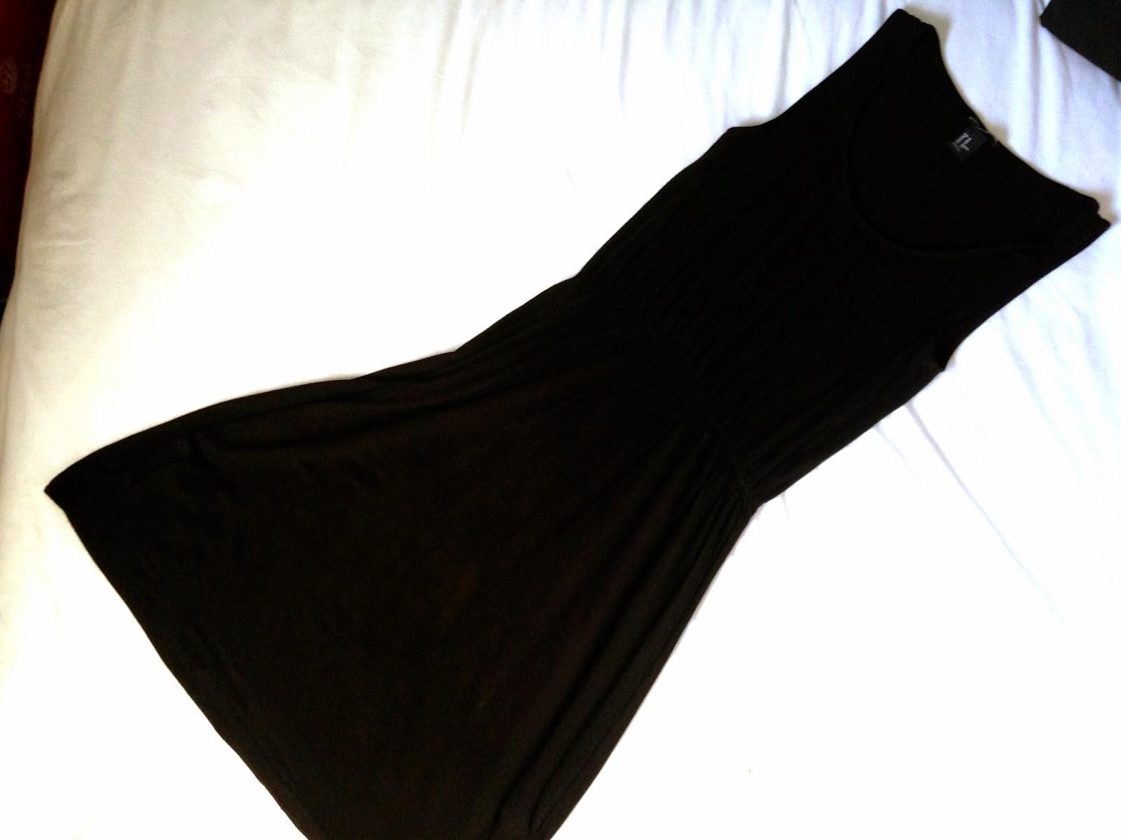 H&M Black Day Dress