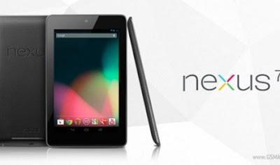 Harga dan Spesifikasi Google Nexus 7