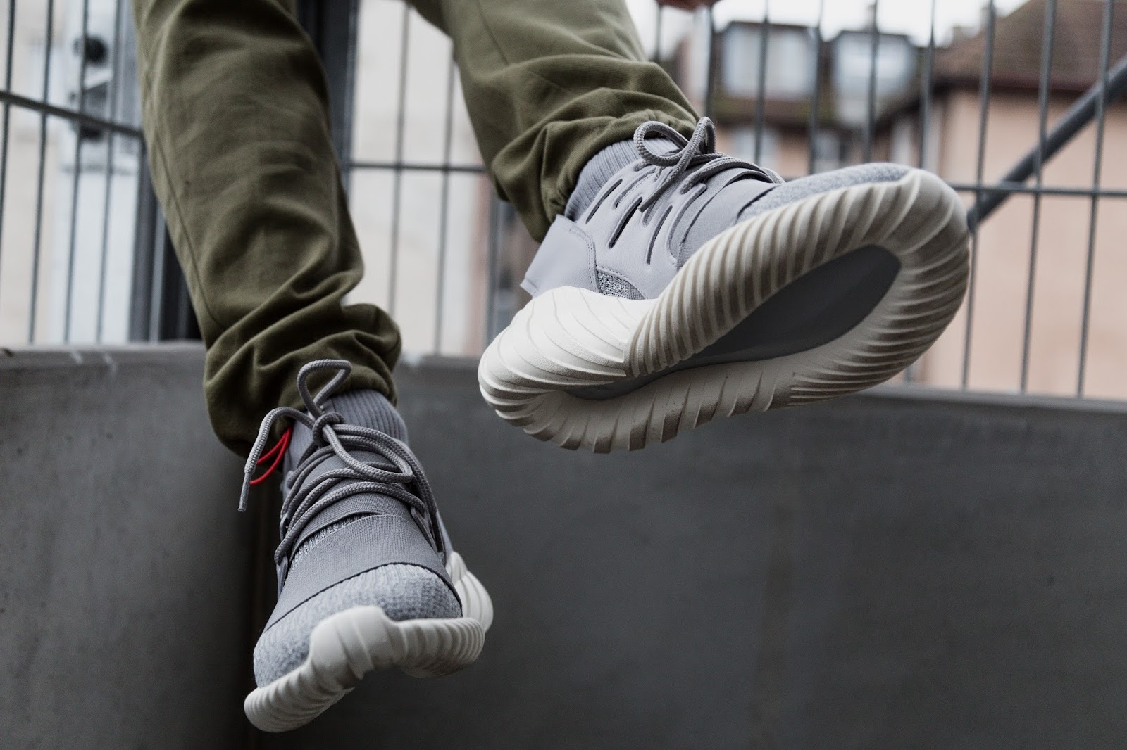Adidas Men Tubular X 2.0 Primeknit gray grey three crystal white