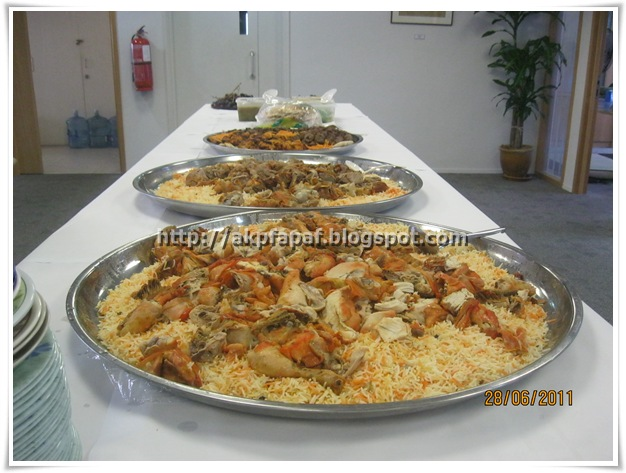 Nasi Mandhi dari Wadi Hadramawt Ampang sana