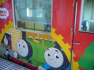 京阪電車 交野線  きかんしゃトーマス号2013・・・10000系