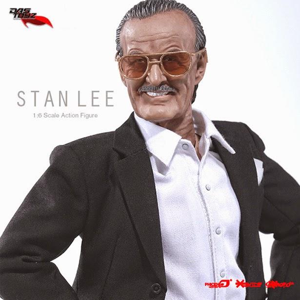 Fotografía primer plano  Figura de acción Stan Lee