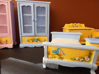 habitación infantil pintada a mano