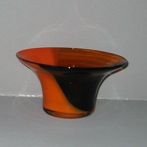 Order a A Unique Autumn Art Glass Bowl