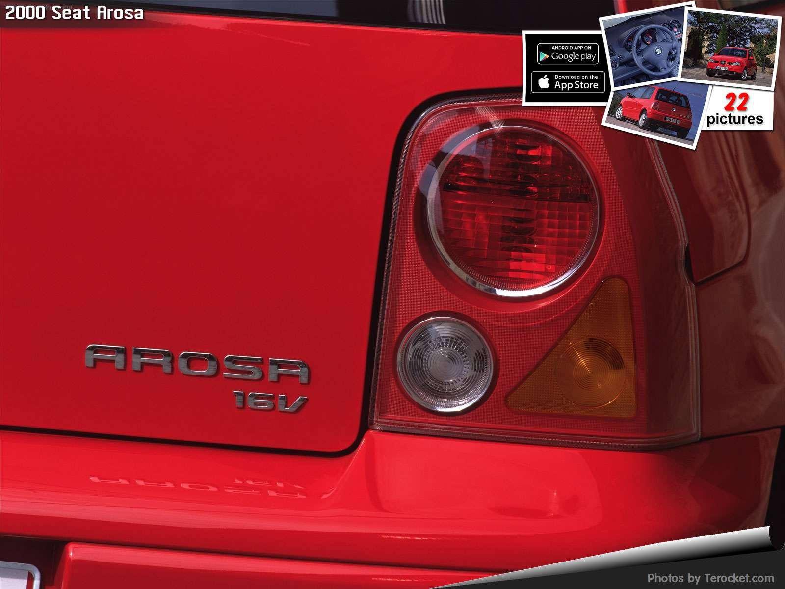 Hình ảnh xe ô tô Seat Arosa 2000 & nội ngoại thất