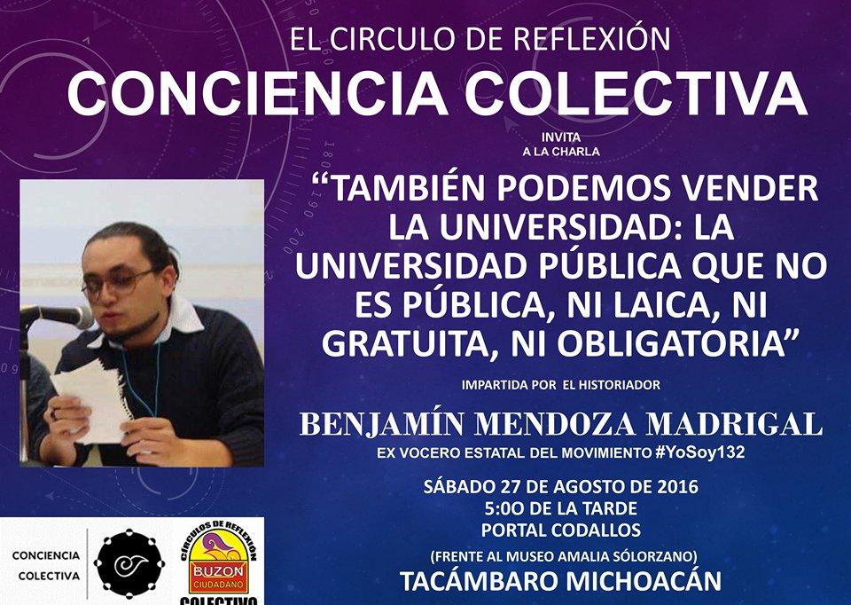 CÍRCULO CONCIENCIA COLECTIVA: TACÁMBARO