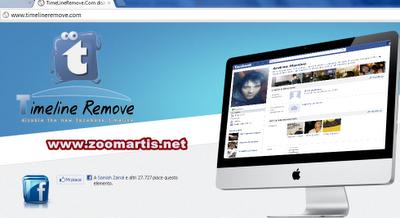 buang timeline facebook
