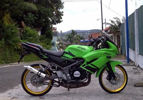 Modifikasi Ninja Kawasaki 150 R, 150 L Komplit unik