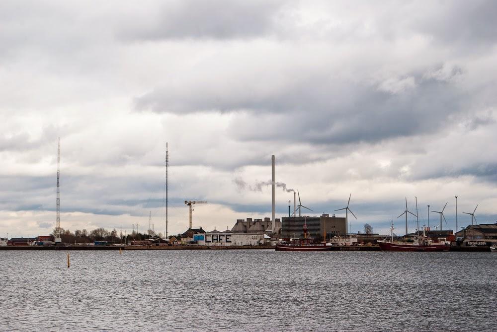 the copenhagen harbour