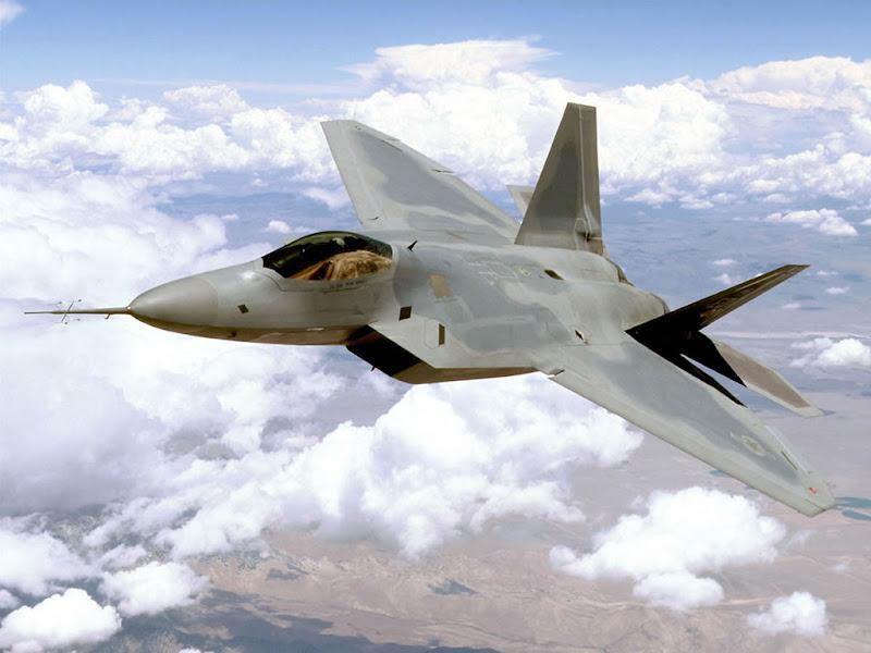 F-22 Raptor Stealth fighter jet