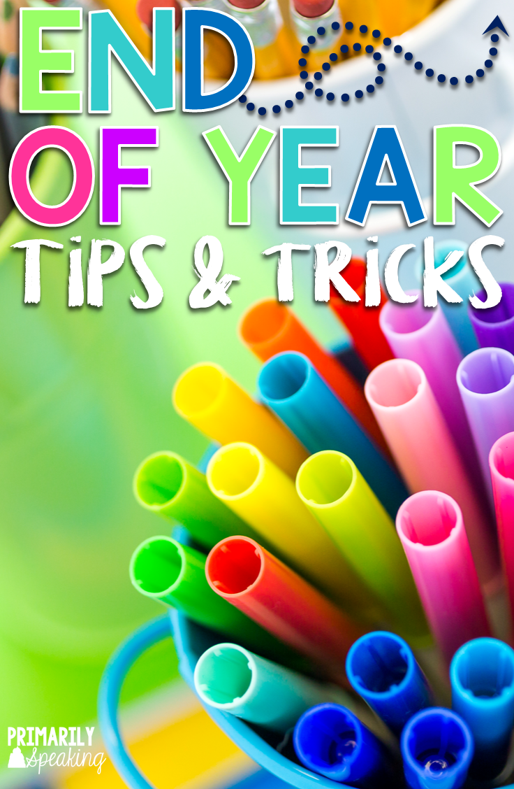 End of Year Tips & Tricks