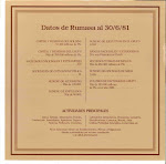 Libro del HOLDING RUMASA. 1961-1981, XX ANIVERSARIO