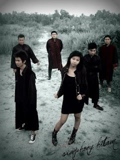 Simphony Hitam Band Gothic Metal With Female Vocal / Vokalis Wanita Palangka Raya Kalimantan Tengah Indonesia Foto Wallpaper