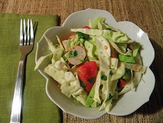Bowl of Salad with Fork