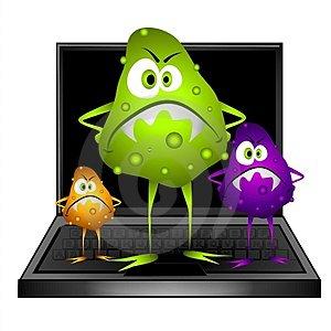 ilustrasi virus