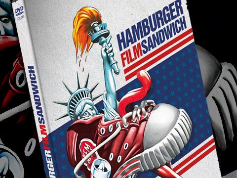 Jaquette d'hamburger film sandwich