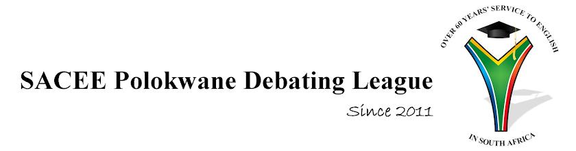 SACEE Polokwane Debating League
