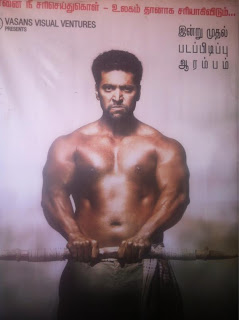 Jayam Ravi six packs photo