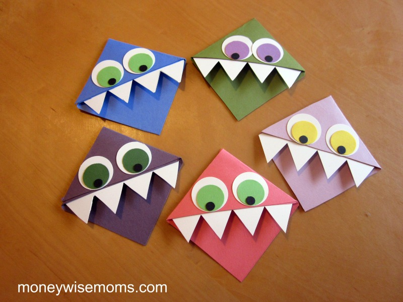 Monster Crafts http://www.moneywisemoms.com/2011/12/quick-and-easy-crafts-for-kids-to-give-2/