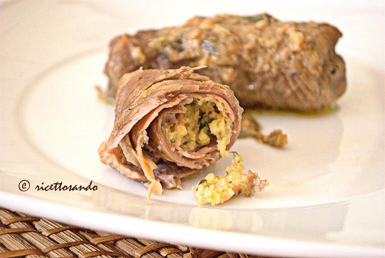 Messicani ricetta di involtini lombardi a base di carne di manzo farcita