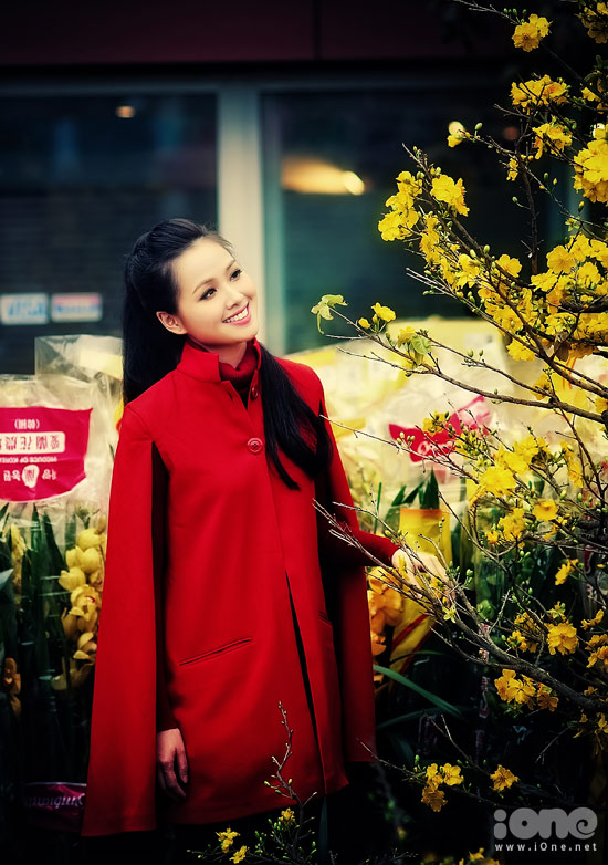 Hot girl Tâm tít - nét đẹp Hà Thành