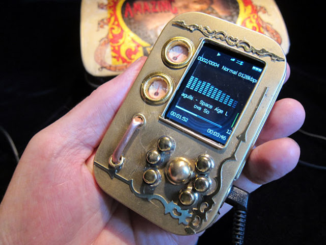 MP3 Steampunk