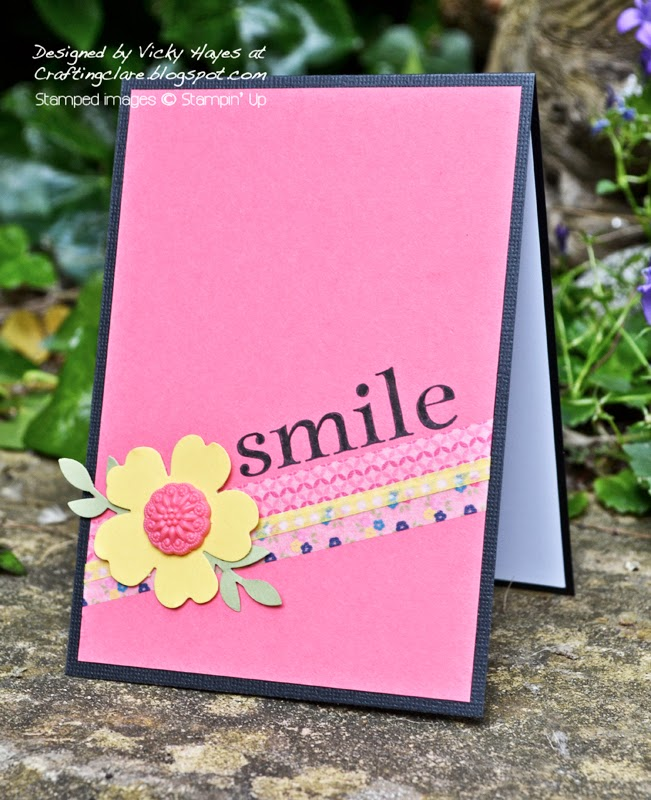 Buy Stampin Up washi tape and embellishments online from UK independent demonstrator Vicky Hayes