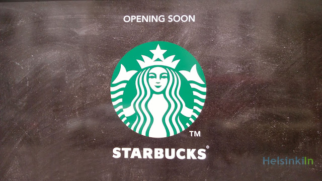 Starbucks in Helsinki opening soon