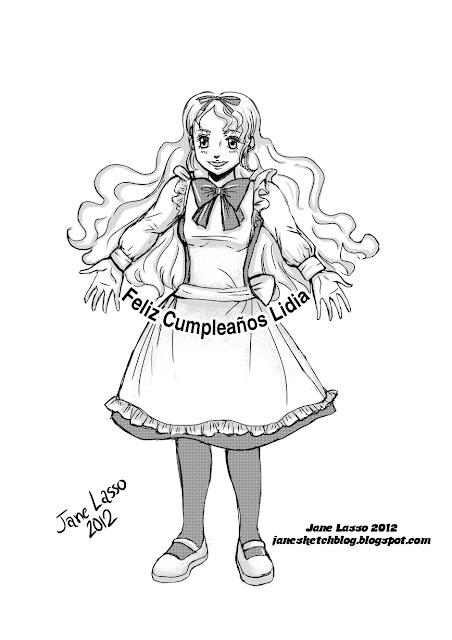 Dibujo hecho en manga studio.