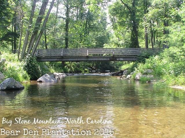 Stream at Big Stone Mountain, North Carolina