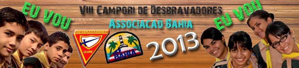 VIII Campori de Desbravadores da Associação Bahia - 2013