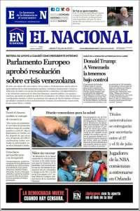 11/07/2020     PRIMERA PAGINA DIARIO DE VENEZUELA