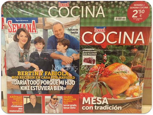 Regalos revistas enero 2016: Semana