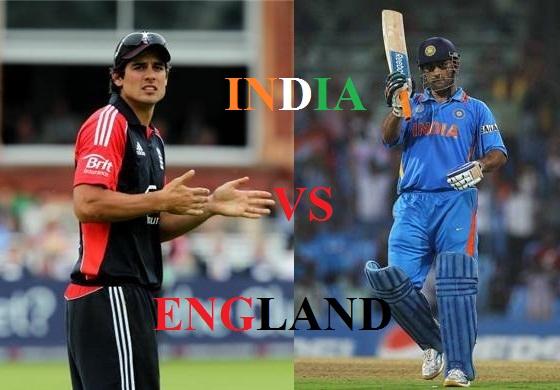 India vs England 2014