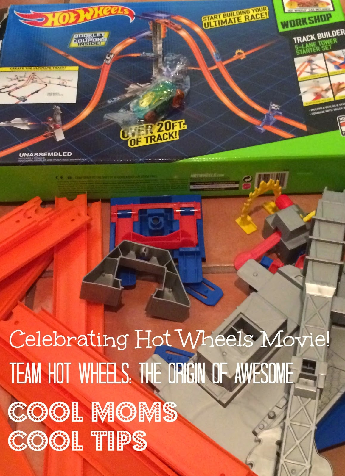 cool moms cool tips Hot Wheels new movie Twam Hot Wheels the Origin of Awesome playing